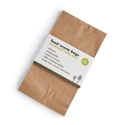 Compostable Food Waste Paper Bags 10 L