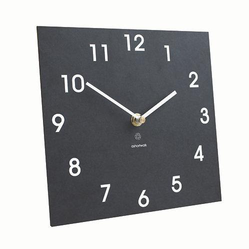 WALL CLOCK -  CARBOARD & BIORESIN