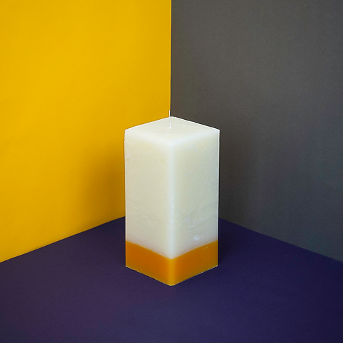 ReCYCLED CANDLE CO - SQUARE PILLAR CANDLE
