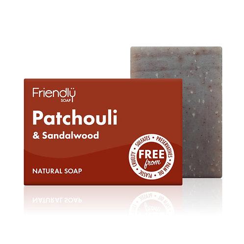 Patchouli & Sandalwood Soap - Friendly Soap 95g