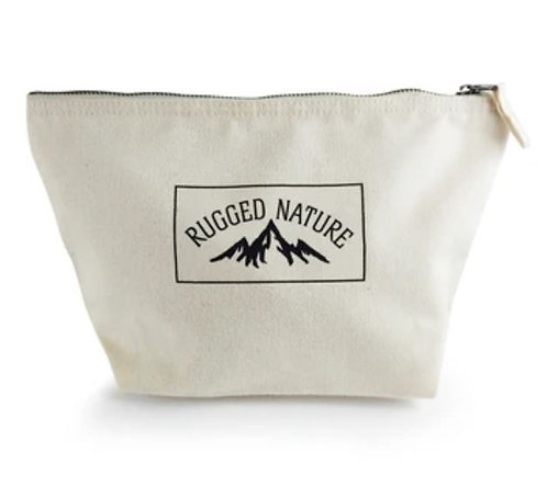 Canvas Washbag - Rugged Nature