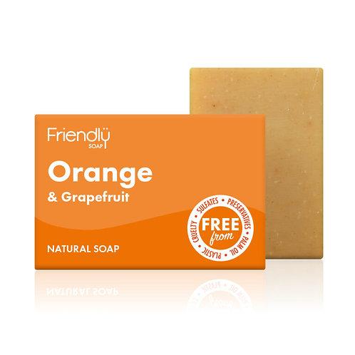 Orange & Grapefruit Soap - Friendly Soap 95g