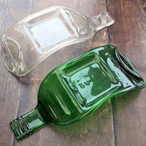 WINE BOTTLE - CANDLE HOLDER