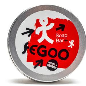 "Fegoo Round ""Soap +"" Soap Bar in Travel Tin"