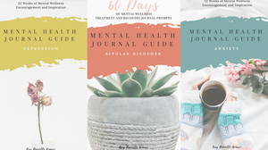 Mental Health Journal Guide for Anxiety have both been discussed in separate posts, which you can find the links for below.. These journal guides contain an entire year's worth of mental health prompts to aid in the treatment and recovery of mental illness