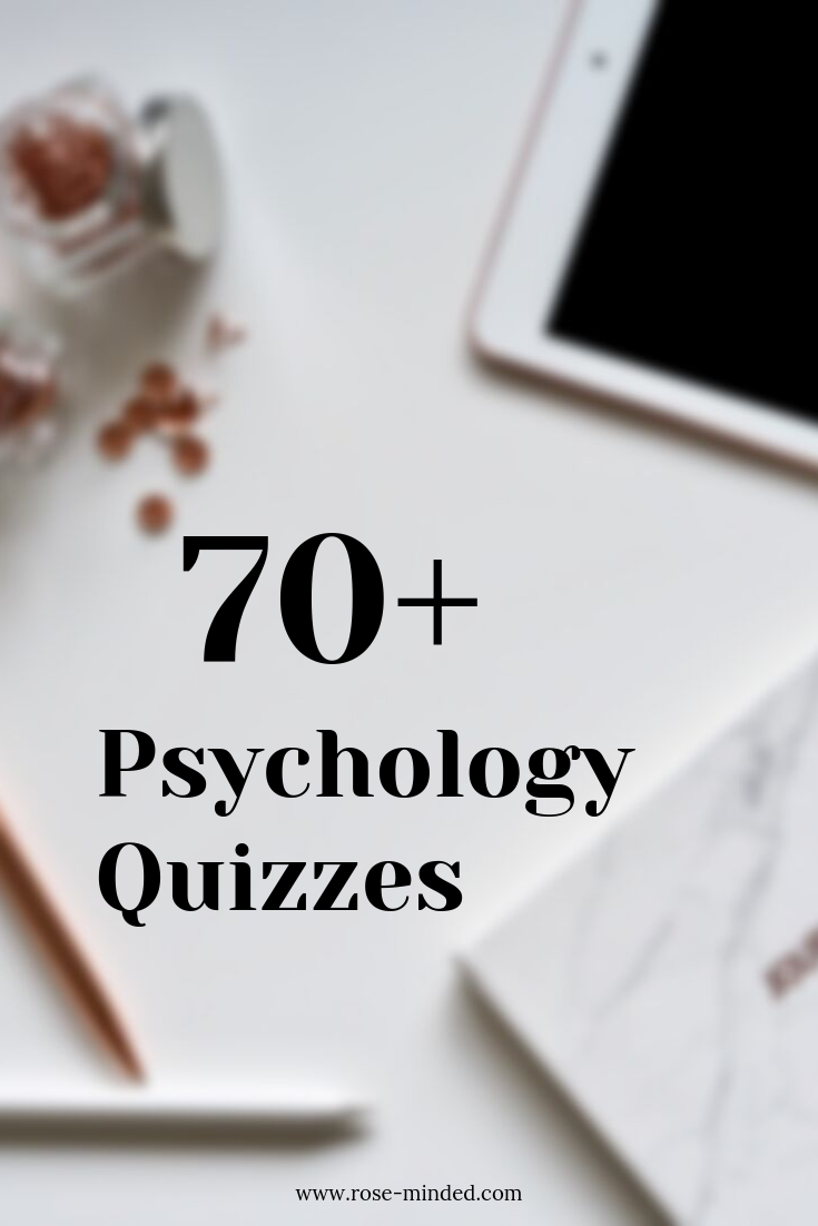 fun psychology quiz