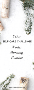 weekly self care, self care challenge