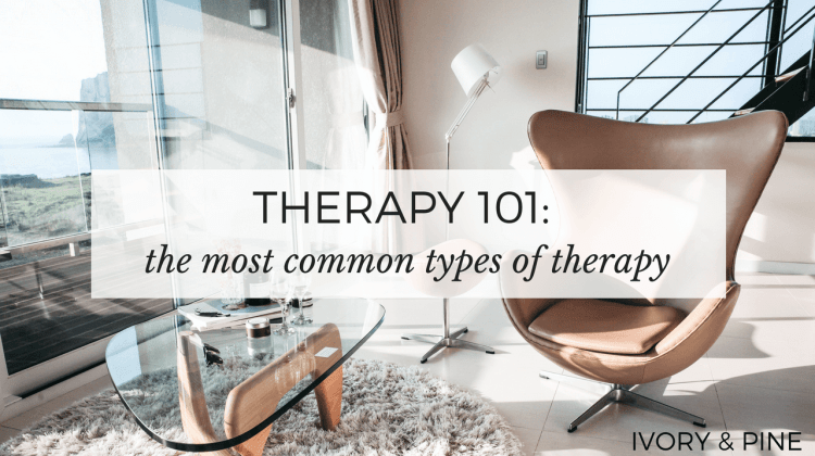 Therapy 101, therapy resources, ivory and pine, mental health blog, best wellness bloggers