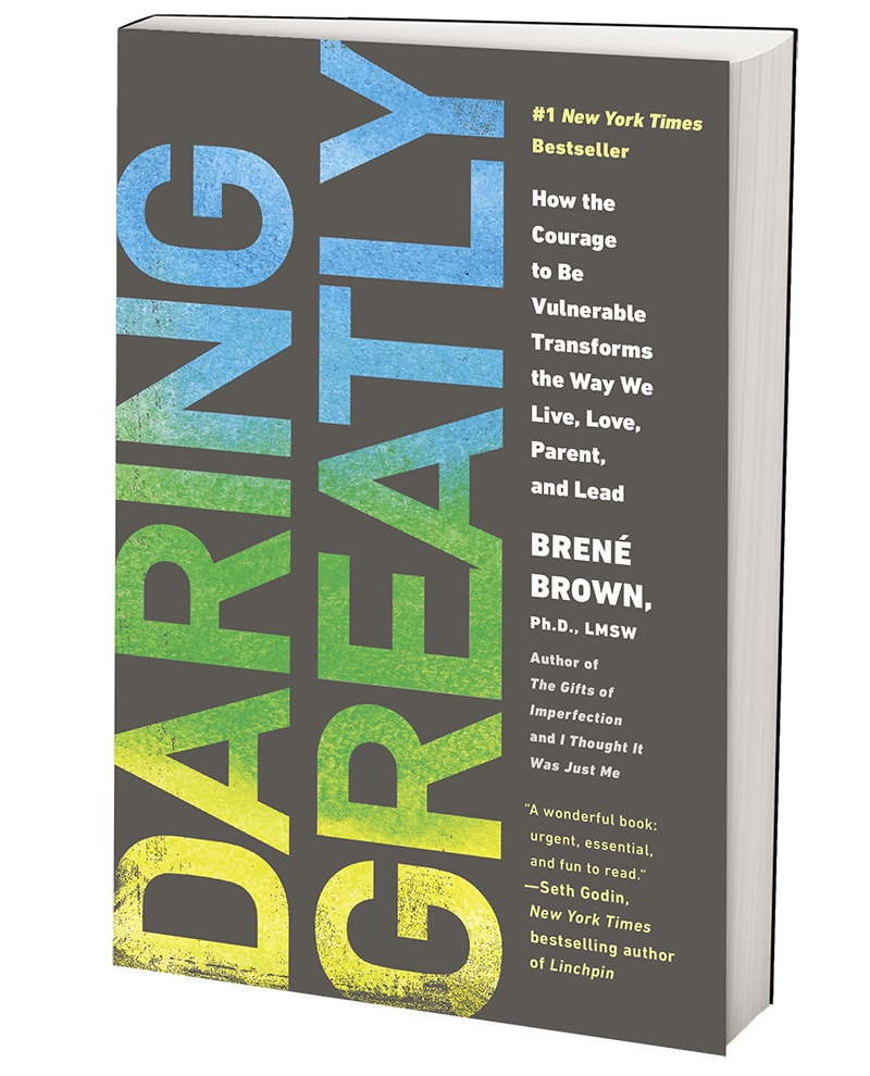 I'm currently reading Brown's book, Daring Greatly, which I highly recommend if you're interested in learning the effects of shame, and what it means to be vulnerable (hint: it's the opposite of weakness).