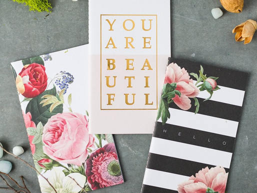 Decorative Notebooks for Journal Writing