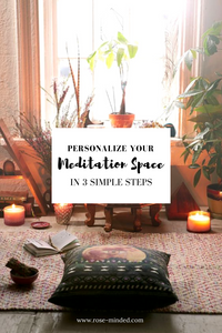 How To Prepare Your Personalized Meditation Space