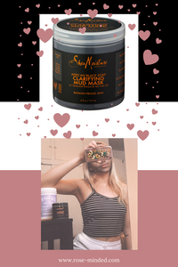 shea moisture african black soap mud mask for self-care