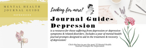 mental health journal prompts for depression