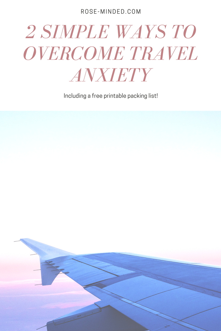 overcome travel anxiety and stress, vacations