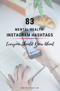 83 Mental Health Instagram Hashtags Everyone Should Know