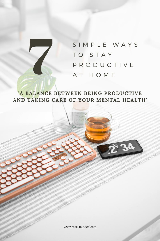 productivity at home