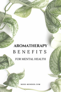 essential oils benefit mental health