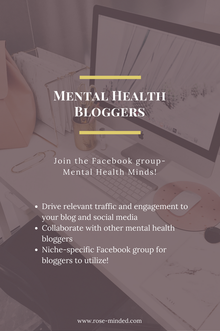 Mental Health Bloggers Facebook Group