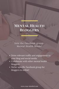 Mental Health Bloggers Facebook Group