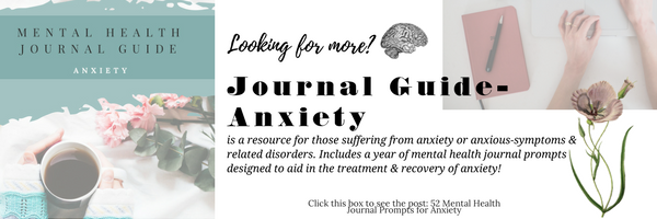 mental health journal prompts for anxiety