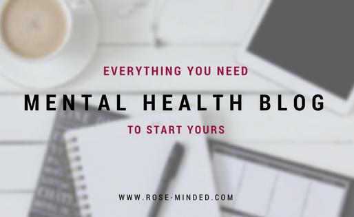Start Your Own Mental Health Blog