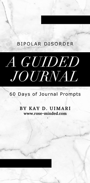 Mental Health Journal Guide- Bipolar Disorder