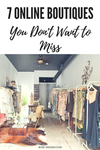 7 online boutiques you don't want to miss