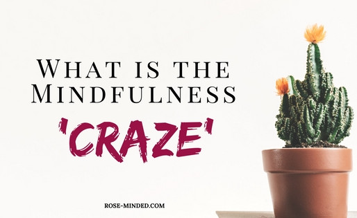 The Mindfulness 'Craze' and Mental Health