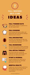 7 fall inspired self-care ideas