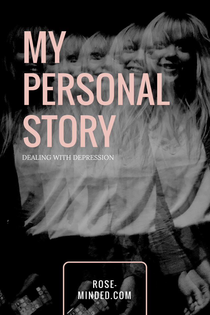 dealing with depression personal story