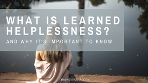 learned helplessness definition, psychology terms, mental health