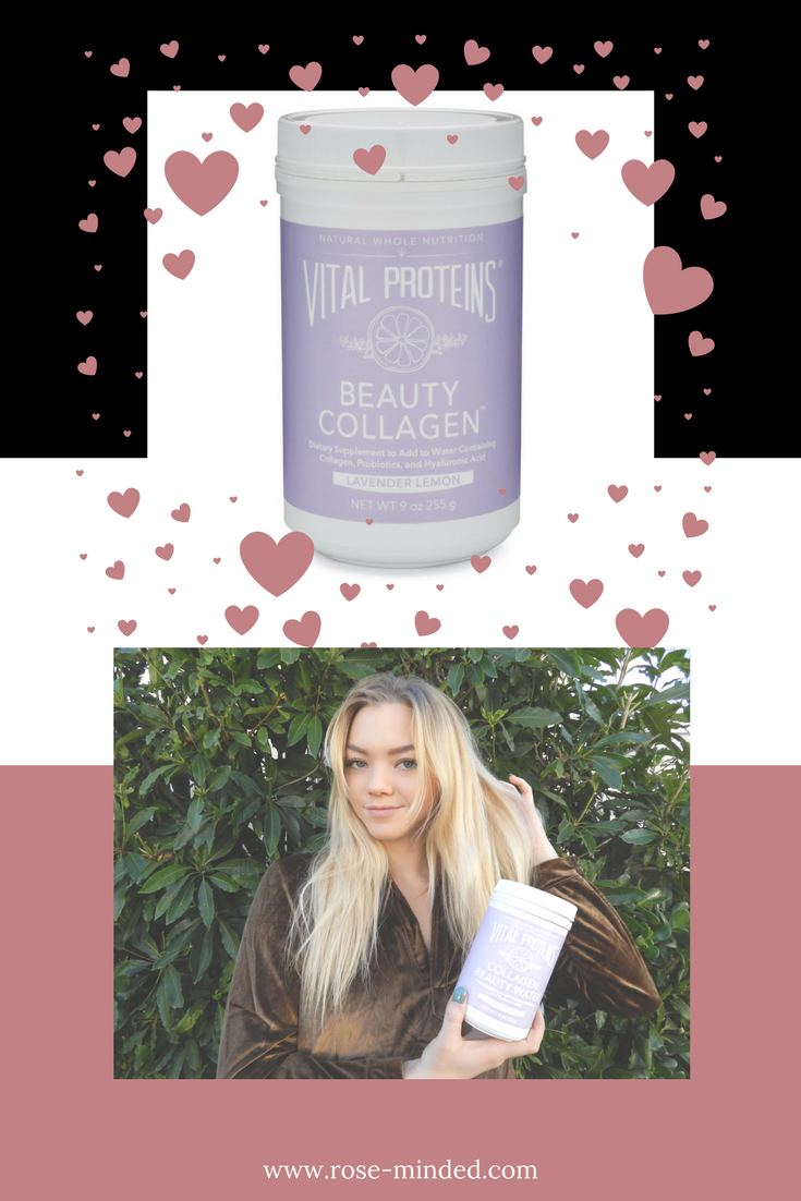 vital proteins collagen water self care
