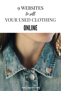 9 websites to sell your used clothing online