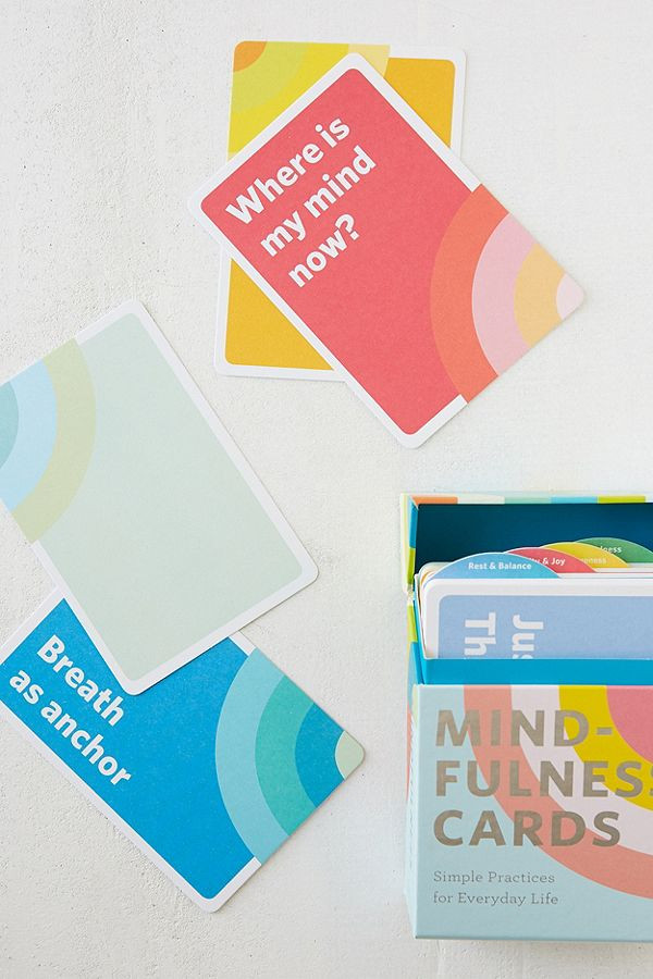 Mindfulness Card Deck Urban Outfitters