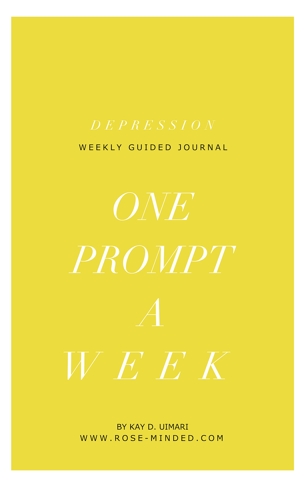 depression journal prompts