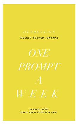 Mental Health Journal Guide- Depression