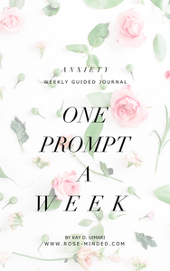 Journal Guide- Anxiety