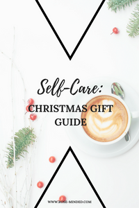 self-care Christmas present ideas, holiday gift inspiration, mental health gifts, mental health support