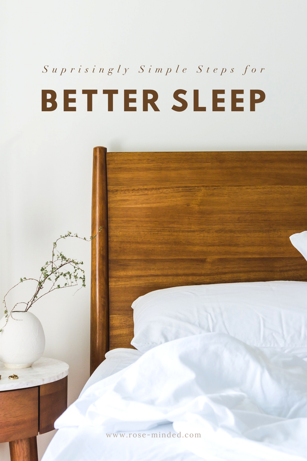simple steps for better sleep