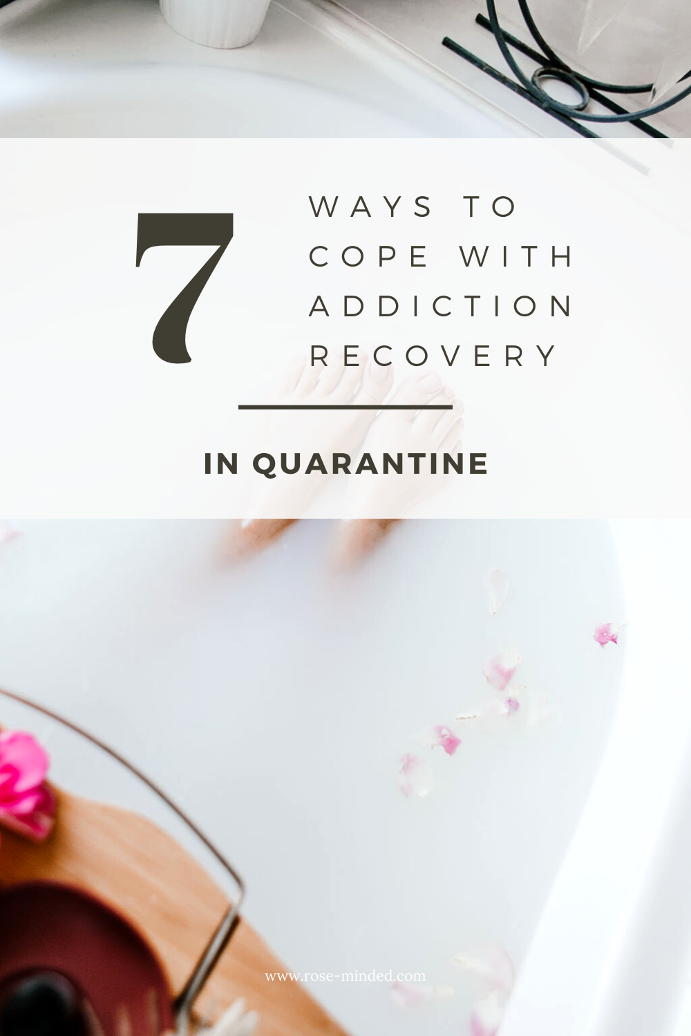 tips to cope with addiction in quarantine