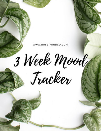 3 Week Mood Tracker
