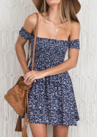 chicgrace off the shoulder floral summer dress