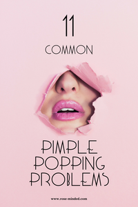 11 Common Pimple Popping Problems, skin-picking disorder, dermatillomania