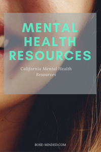 California mental health resources