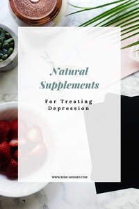 natural supplements for treating depression