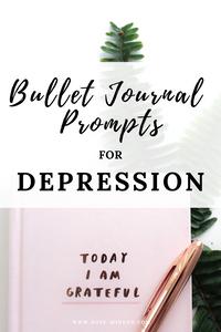 Bullet Journal Prompts for Depression