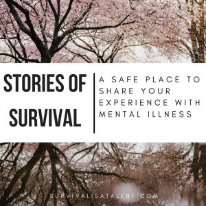 survival is a talent, mental health blog, best mental health bloggers