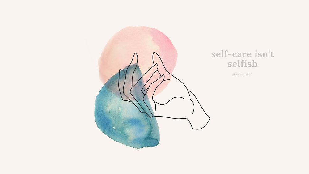 self care desktop wallpaper