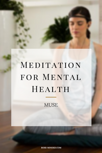 Muse headband for meditation, mental health, mindfulness, psychology technology