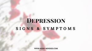 Do you, or someone you know, have Depression? How can you tell if someone is depressed? When is it time to seek treatment? What does depression recovery look like?